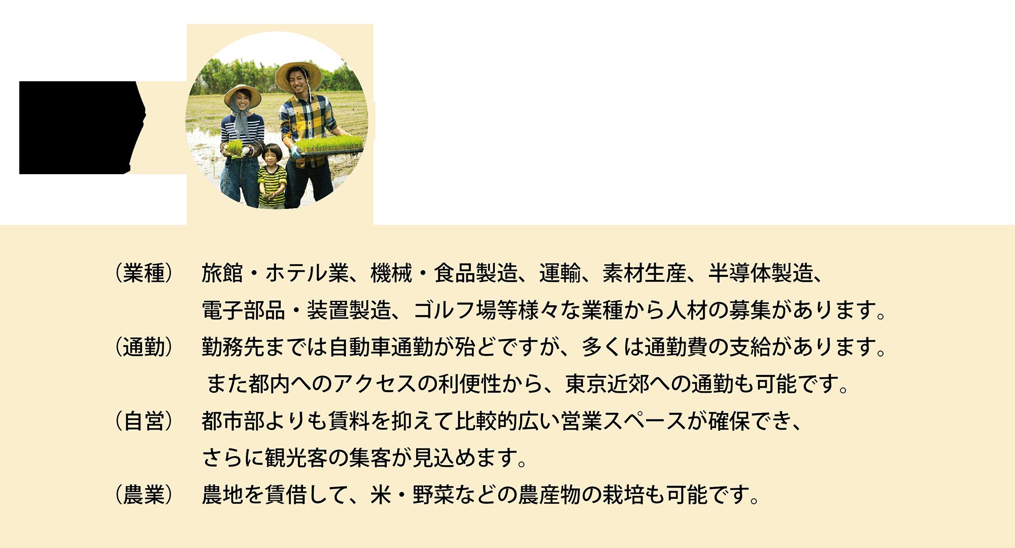 富士吉田でのUターン、Iターンを応援します。