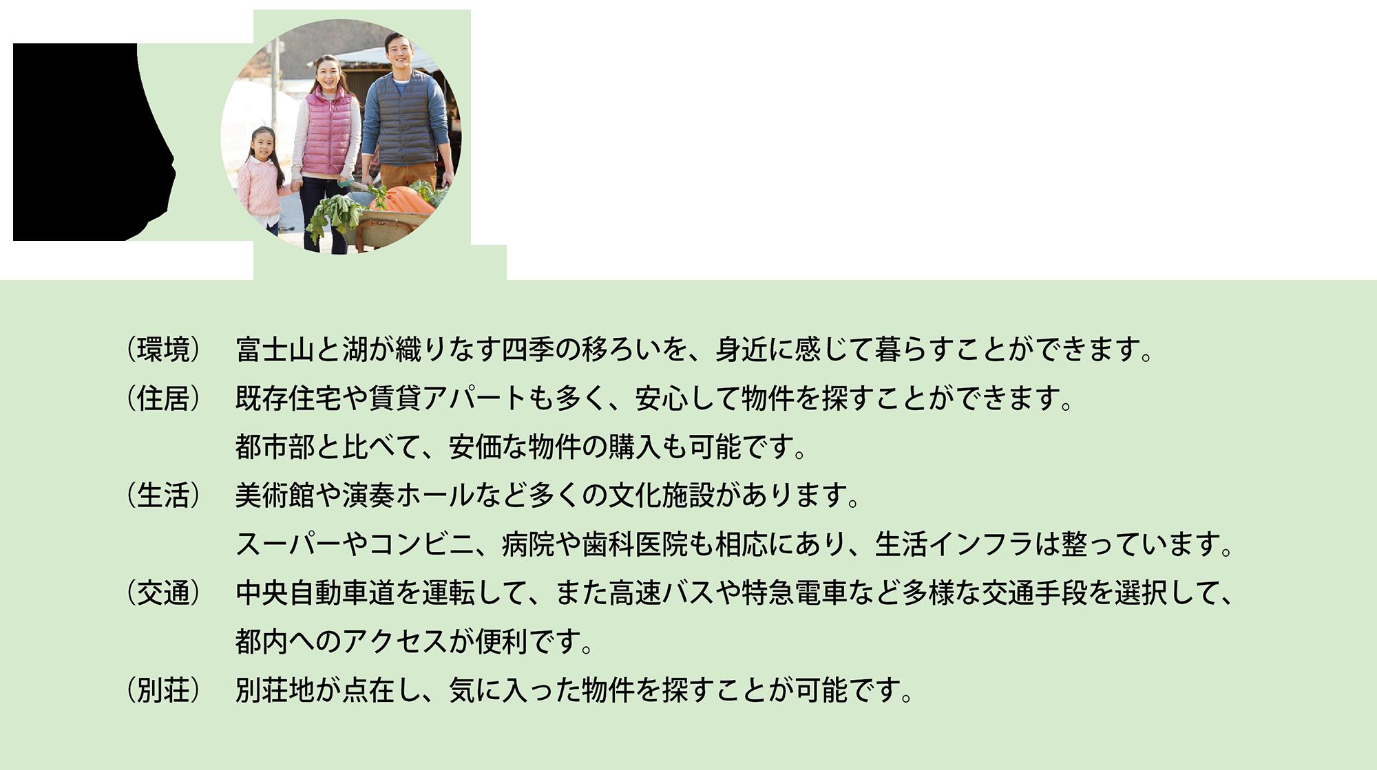 富士吉田の移住相談を応援します。